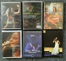 Lot of 6 DVD's By Maria Bethania, Brazil Singer