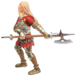 Schleich World of Knights Red Halberd Halberdier HELLBARDIER KNIGHT Figurine