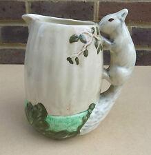 Vintage SYLVAC Acorn Squirrel Handle Jug