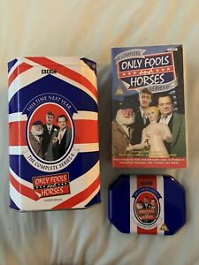 Only Fools and Horses - Limited Edition Union Jack Tin - VHS Series 6 BRAND NEW!
