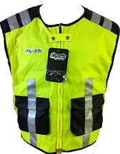 RK SPORTS HIGH VISIBILITY Motorcycle motorbike bike cycling vest Waistcoat HiViz