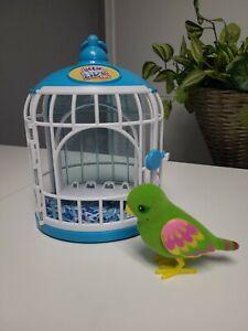 Little Live Pets Tweet Talking Birds Silly Billie original generation? EUC green