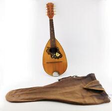 Rundbauch Zupfinstrument alte MARCELLI Mandoline