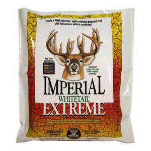 Whitetail Institute Imperial Extreme Food Plot For Deer Hunting Plant Seeds NEW