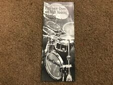 #MISC3737 MUSICAL INSTRUMENT CATALOG BROCHURE - 1988 PURECUSSION DRUMS