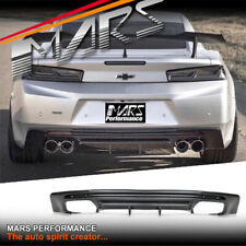 MARS Performance Style Rear Bumper Bar Diffusers for Chevrolet Camaro 2SS 2016+