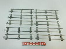 bk324-1 #10x MÄRKLIN escala 0 Vía / piezas de Vía Recto (26 cm) PARA