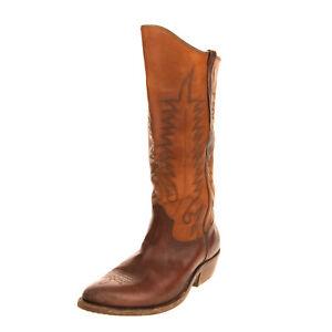 RRP €860 GOLDEN GOOSE DELUXE BRAND Western Boots LEFT SHOE ONLY EU 43 UK 9 US 10