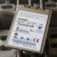 "1.8"" Toshiba MK1229GSG SATA 120GB DISQUE DUR For HP Elitebook 2530P 2730P 2740P‏"