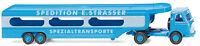 "Wiking 058049 H0 Autotransporter (MB Pullman) ""Spedition E. Strasser"" NEU OVP -"