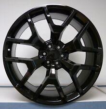 Set (4) 20x9 744 GMC 1500 Sierra Gloss Black Denali Tahoe Silverado Wheels Rims