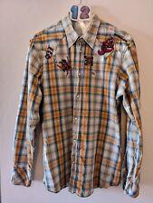 "(12) Energie Mens designer Cowboy shirt XL 46"""