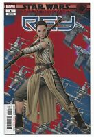 Star Wars AOR Rey #1 2019 Unread Mike McKone Puzzle Variant Cover Marvel Comics