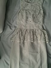 NWOT TEVOLIO GRAY DRESS  , sz2