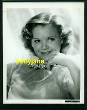 SIMONE SIMON VINTAGE 8X10 PHOTO YOUNG SWEET PORTRAIT 1937 SEVENTH HEAVEN