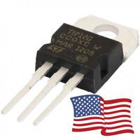 10pcs - TIP120 NPN Darlington Transistor TO-220 60V 5A  for Ardunio/Pi 3 PIN USA