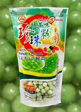Green Tea Tapioca Pearl Boba Bubble Tea WuFuYuan Ready in 5 Minutes 8.8 Oz.