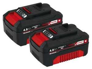 Einhell PXC-Twinpack 4,0 Ah Akku POWER X-CHANGE Ersatzakku Batterie