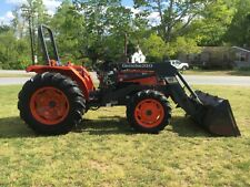 Nice Kubota M4700 4X4 Loader Tractor with Only 575 Hours