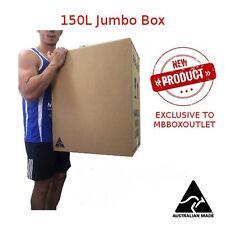 10x 150L JUMBO Moving Box  Cardboard Carton Removalist