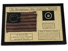 Revolutionary War Bullet from Yorktown, VA in a  8 x 12 Display Case with COA