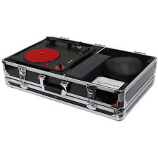 Odyssey Krom Numark PT01 Scratch Turntable Case with Side Compartment (Black)