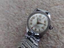 Swiss elegante 17 joyas vintage Arugo Waterprof, mecánica señoras reloj de trabajo.