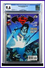 Superman Batman #82 CGC Graded 9.6 DC May 2011 White Pages Comic Book.
