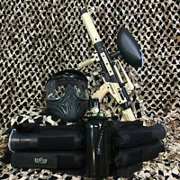 NEW Tippmann Cronus Tactical LEGENDARY Paintball Gun Package Kit - Tan/Black