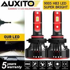 AUXITO 9005 HB3 LED Headlight Bulb High Beam Kit 6500K 12000LM Super Bright SMD