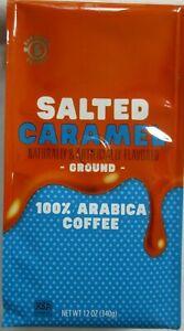 BARISSIMO SALTED CARAMEL COFFEE GROUND 12 OZ BAG