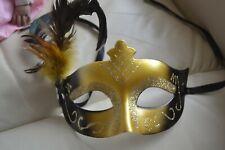 Augenmaske,Gold,Verkleidung,Neuwertig