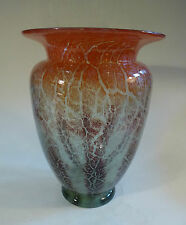 Art Deco Glas Vase WMF Ikora um 1930 groß 24,8cm !