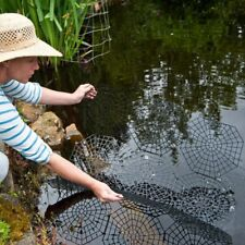 More details for 20 piece pond & fish guard protector plastic floating net rings protective cover