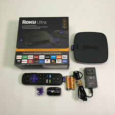 New listing Roku - Ultra 4K Streaming Media Player w/ Headphones and Enhanced Voice Remote