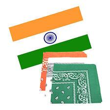 India 5 x 3 ft Flag with 3 Matching Bandanas
