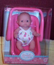 "New Berenguer Doll Lots To Love Babies 5"" Mini Nursery PlaySet Carrier Nib"