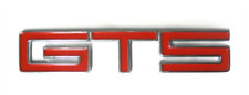 HOLDEN HK BOOT TRUNK BADGE GTS - J&M Old Skool Parts and Panels