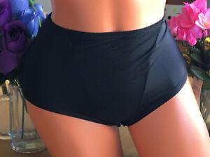 F.I.T. Figure Improving Medium Black Hi Waist Brief Control Panties #176039