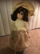 French jumeau reproduction Porcelain Doll By Roberta McDonald
