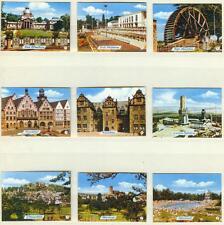 9er Streichholzetikettenserie 34b - mit Städtebilder (Oberursel und Umgebung)