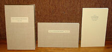 Limited Numbered Paul Cezanne Sketchbook 1875 1885 Drawings 2 Volume Box Set