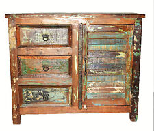 Recycled Timber Country Storage Cabinet Buffet Sideboard Vanity Rustic Vintage