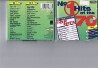 No.1 Hits of the 70's Andy Gibb, Alicia Bridges, Slade, Luv, Barry Whit.. [2 CD]