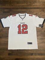 Tom Brady NFL Jersey - Tampa Bay Buccaneers White XL