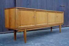 60er Vintage Nussbaum Sideboard Kommode Anrichte Danish Mid-Century Wegner Ära 4