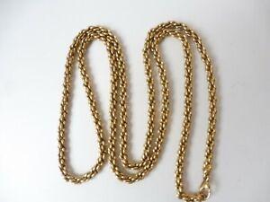 Schöne lange Halskette / Kette ,vergoldet  70 cm, Pierre Lang !