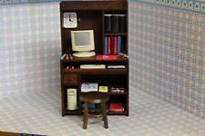 DOLLS HOUSE Miniature ( Office / Study Unit