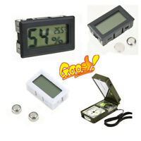 Understated Digital LCD Indoor Temperature Humidity Meter Thermometer Hygrometer