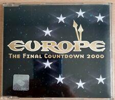 Europe - The Final Countdown 2000 - 3-track CD single